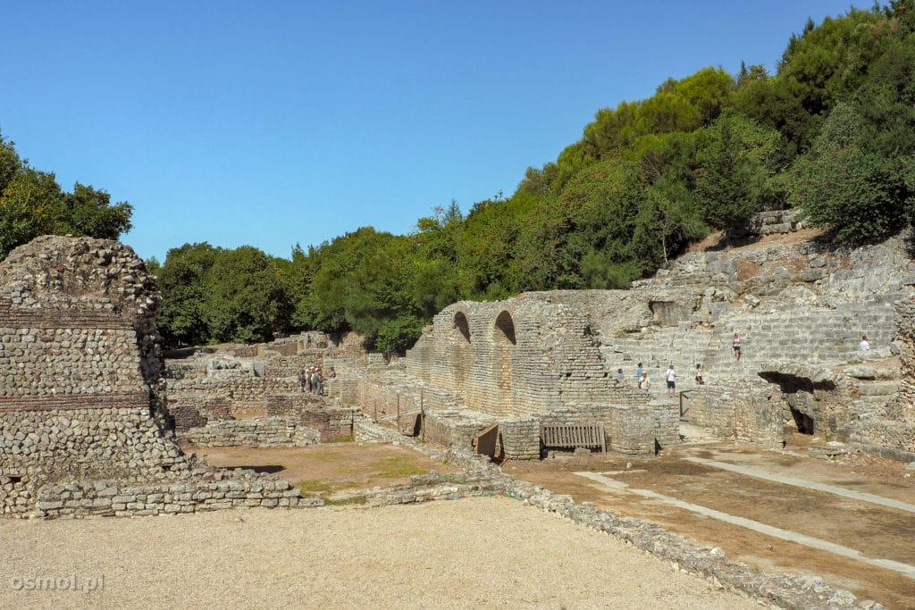 Ruiny starożytnego Butrintu w Albanii