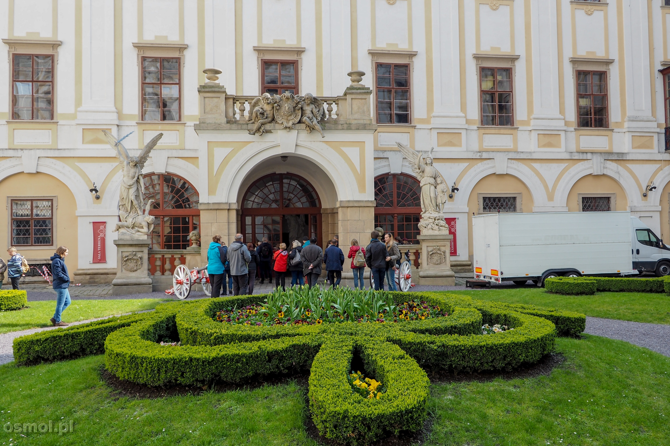 Dziedziniec Pałacu w Kromieryżu