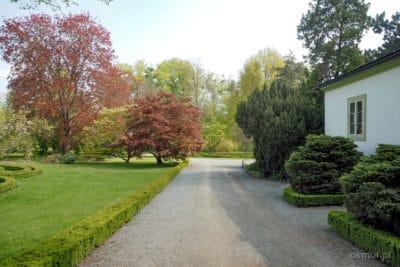 Ogród pałacowy w Kromieryżu - zespół parkowy przy pałacu arcybiskupim