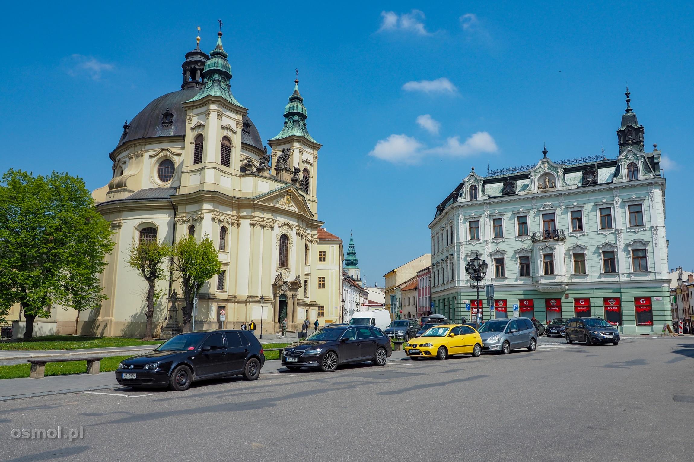 Kościół w Kromieryżu Czechy