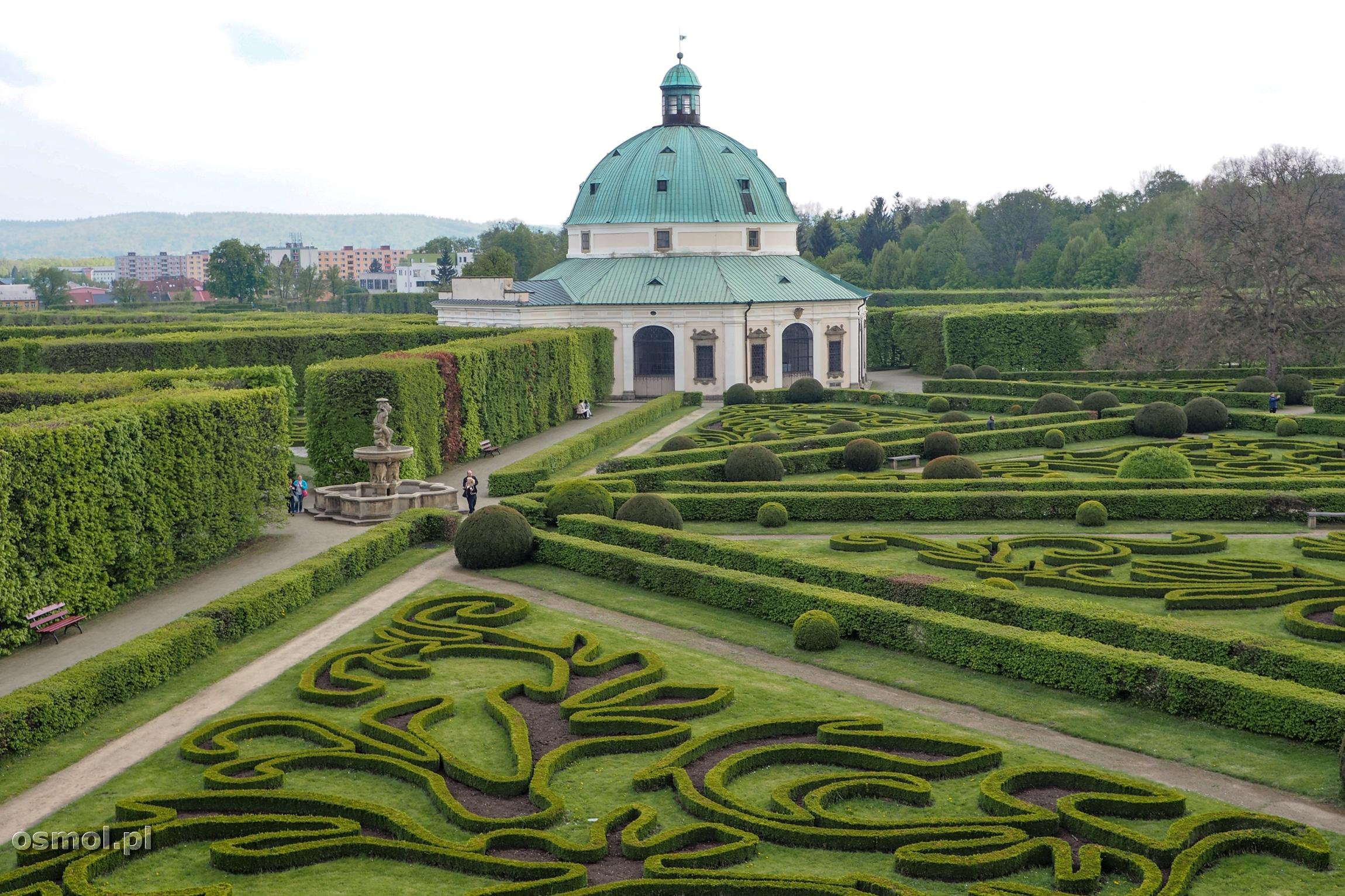 Ogród Kwiatowy w Kromieryżu