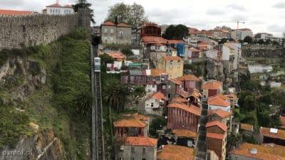 Funicular w Porto