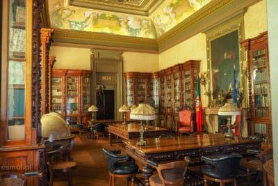 Sala w Pałacu Bolsa Porto