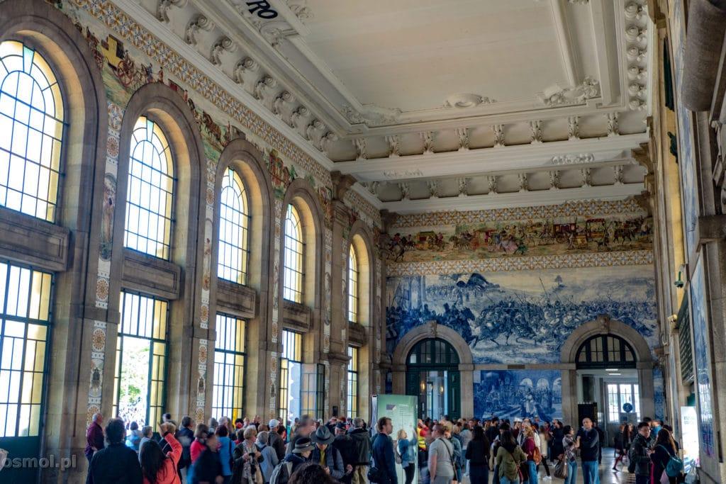 Azulejos na stacji Bento Porto