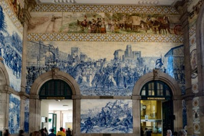Dworzec Bento w Porto