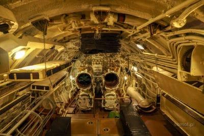 Pokład torpedowy na okrecie podwodnym Lembit