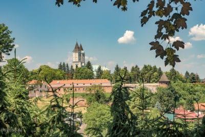 Panorama z punktu widokowego w Jarosławiu