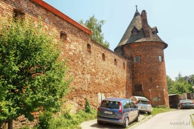 Baszta i mury jarosławskiego opactwa