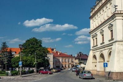 Widok na rynek w Jarosławiu