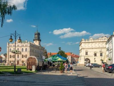 Widok na jarosławski Rynek