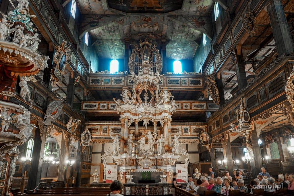 Ołtarz w Kościele Pokoju w Świdnicy