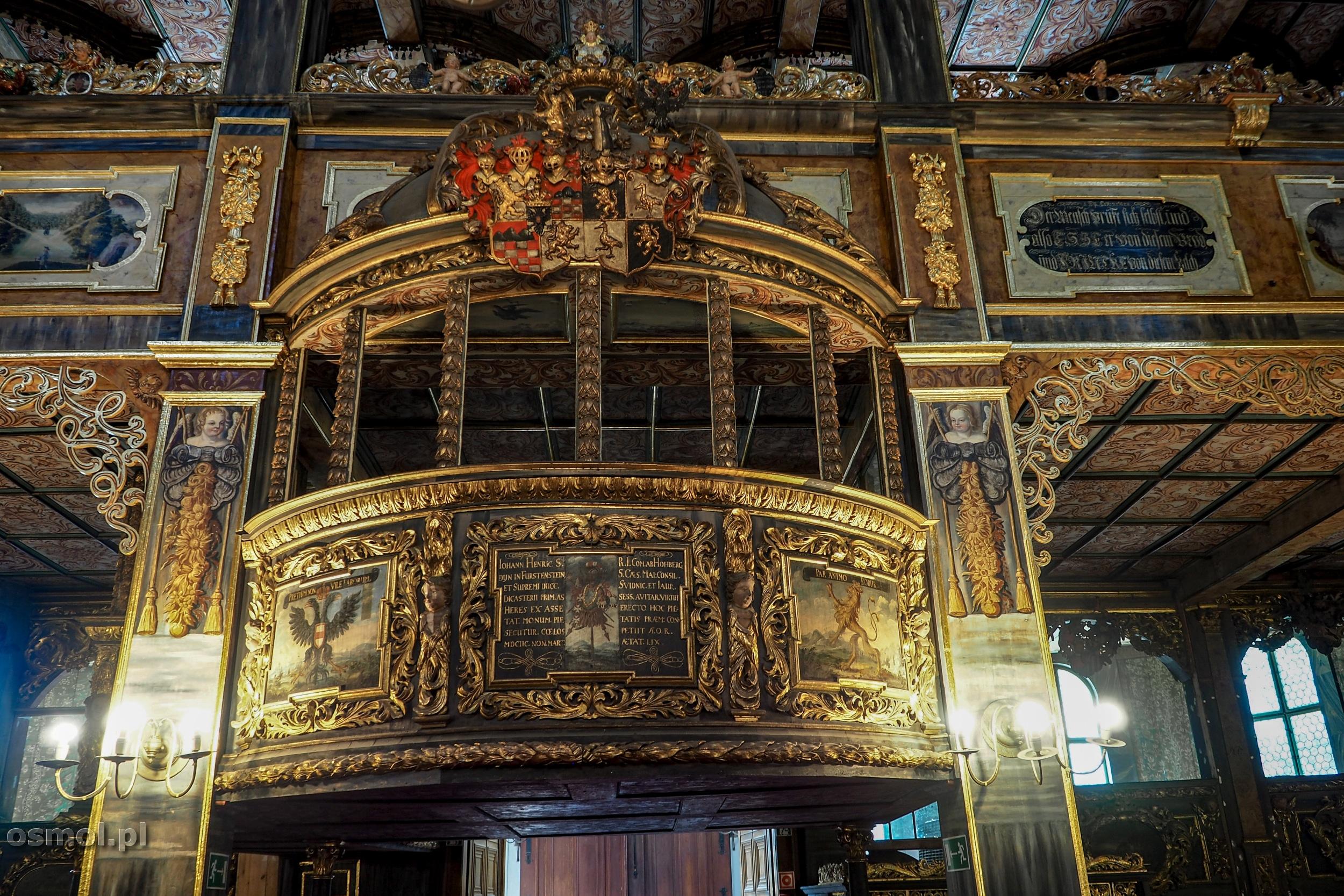 Loża w kościele pokoju w Świdnicy