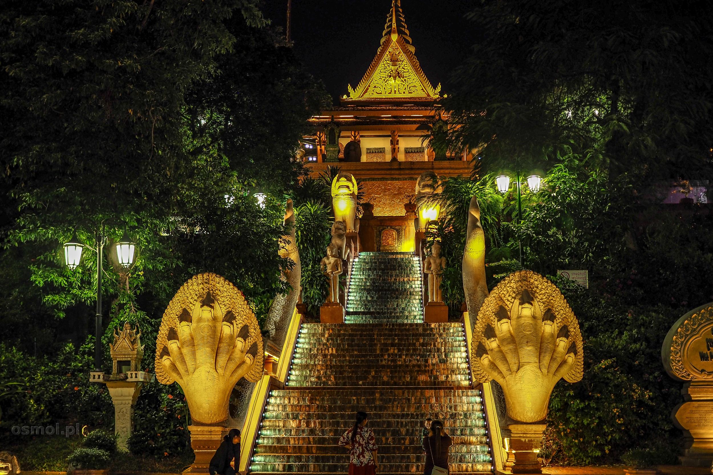 Wat Phnom w Phnom Penh
