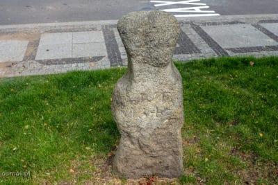 Krzyż Jakuba Tau - straconego tu książęcego błazna