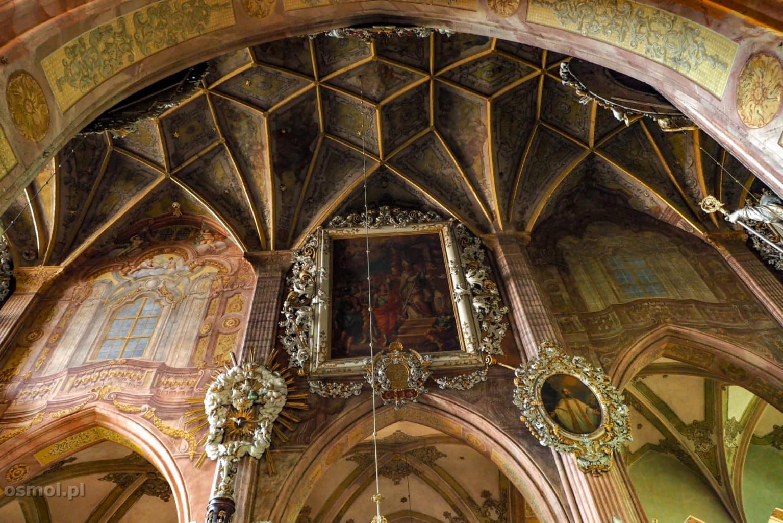 Sklepienie katedry w Świdnicy