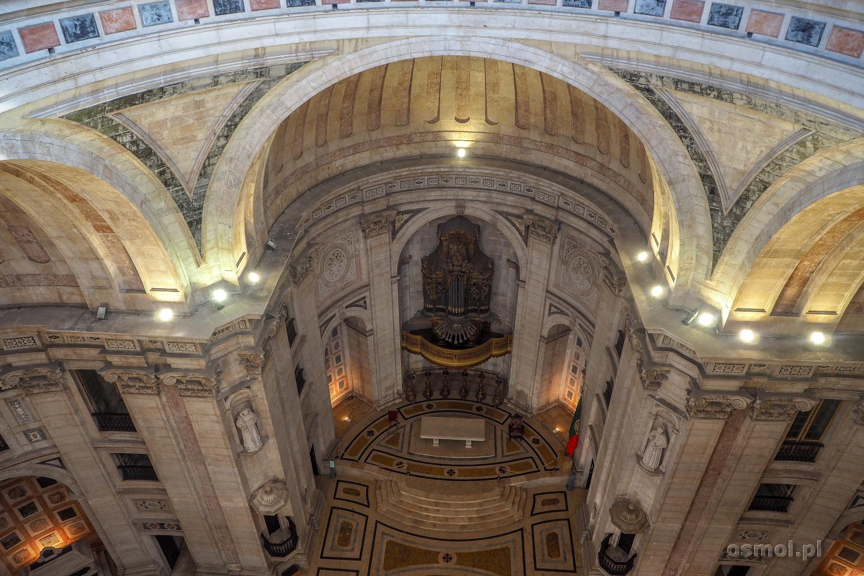Wnętrze Panteonu Narodowego w Lizbonie