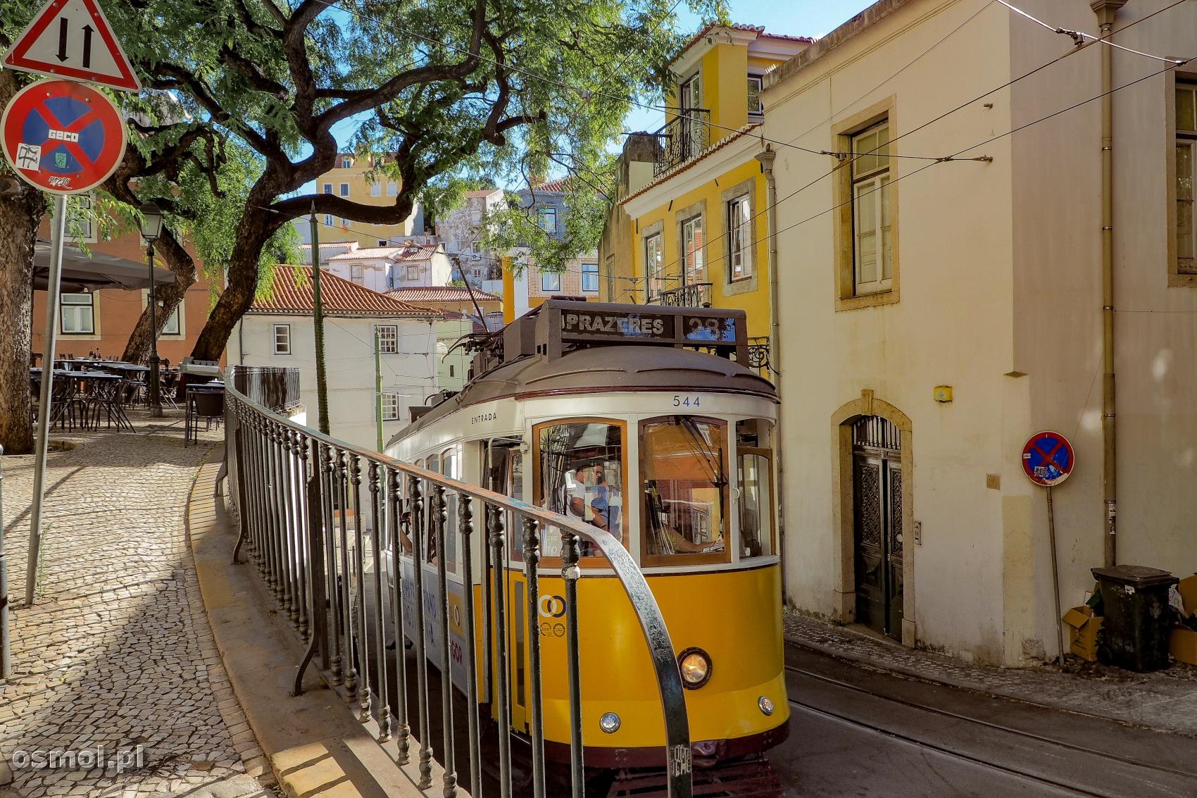 Tramwaj 28- chyba najbardziej charakterystyczny widok, z którym kojarzy się Lizbona.