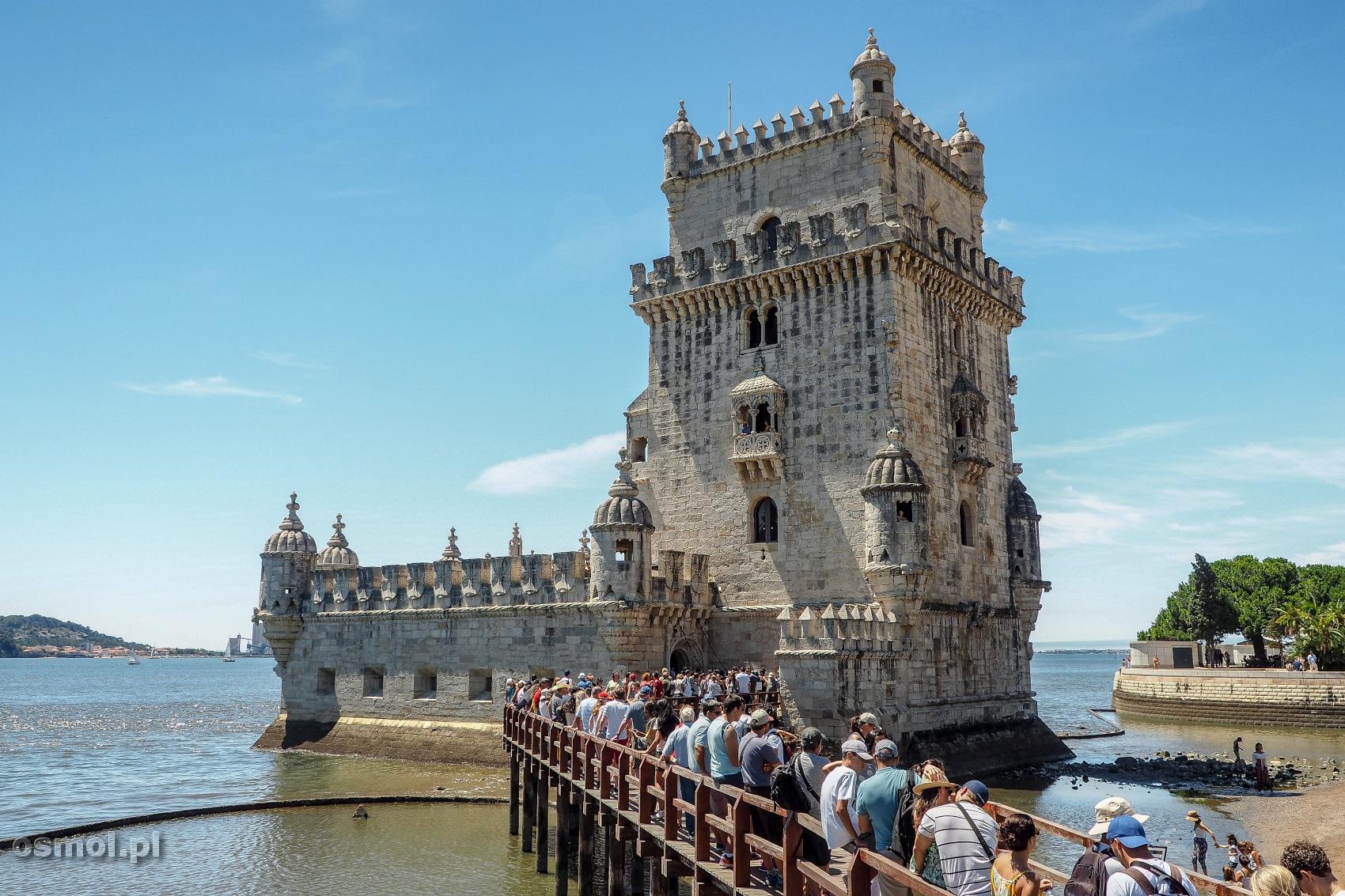 Torre de Belem w dzielnicy Belem w Lizbonie