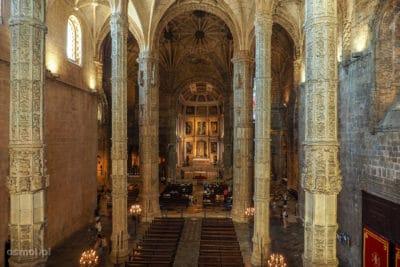 Kościół przy klasztorze Hieronimitów w Lizbonie