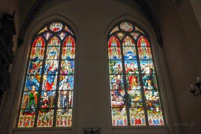 Witraże w ryskiej katedrze
