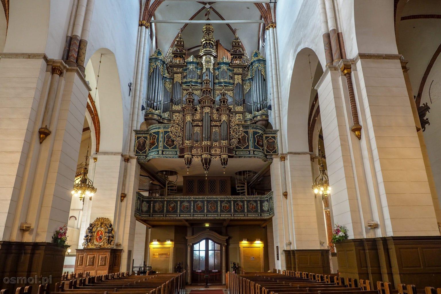 Organy w katedrze w Rydze