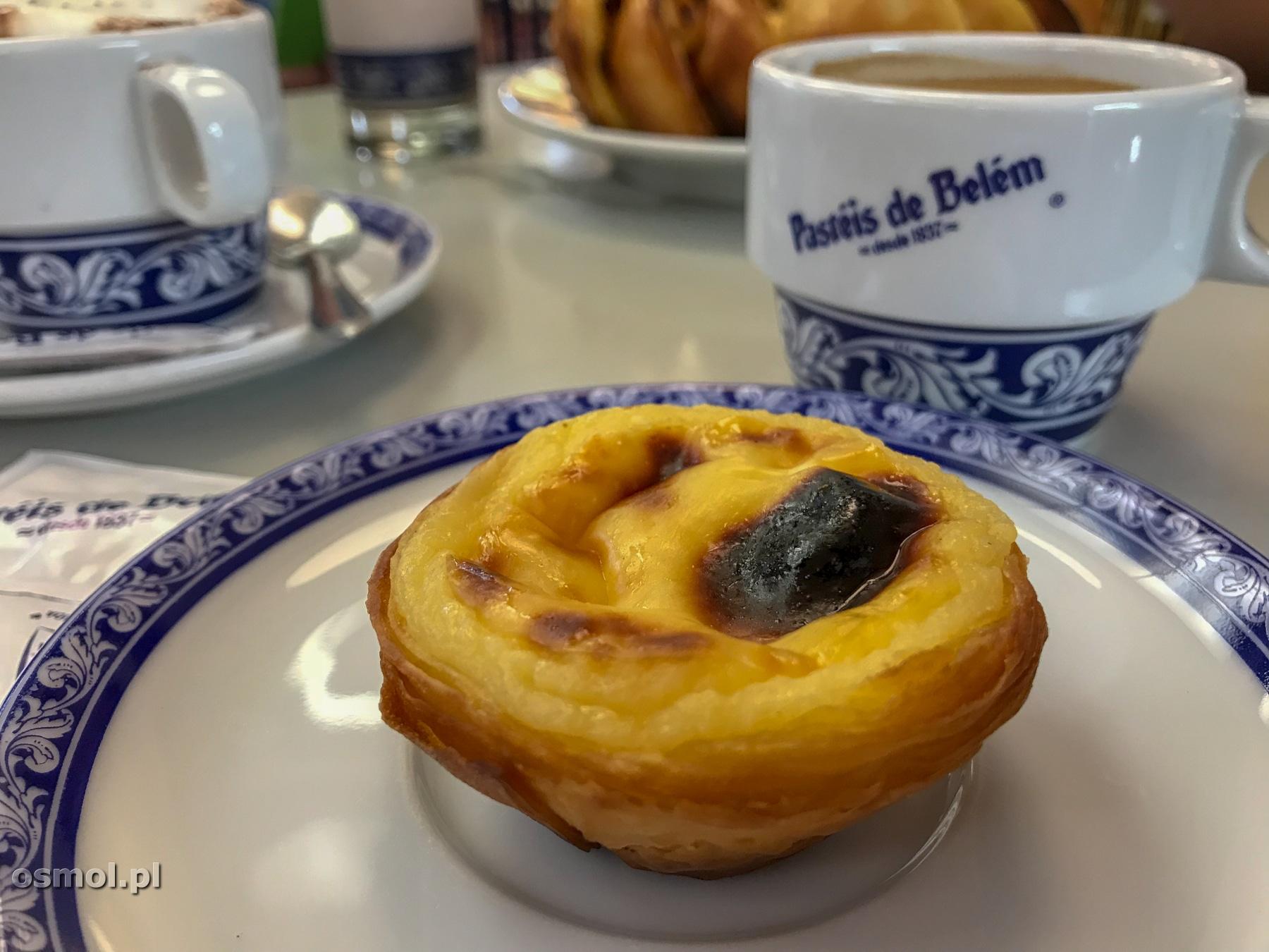 Pasteis de Belem - najsłynniejsza ciastkarnia i zarazem kawiarnia w Lizbonie