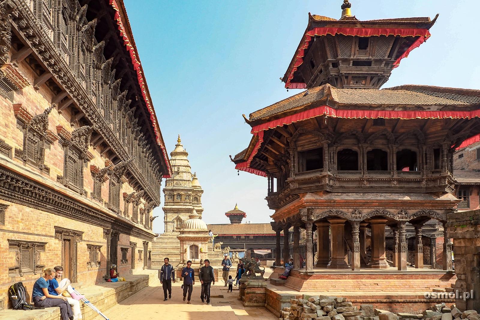 Plac Surbar w Bhaktapurze