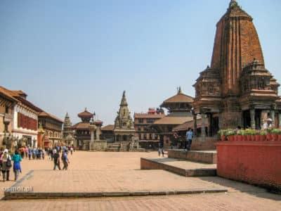 Bhaktapur przed trzęsieniem ziemi