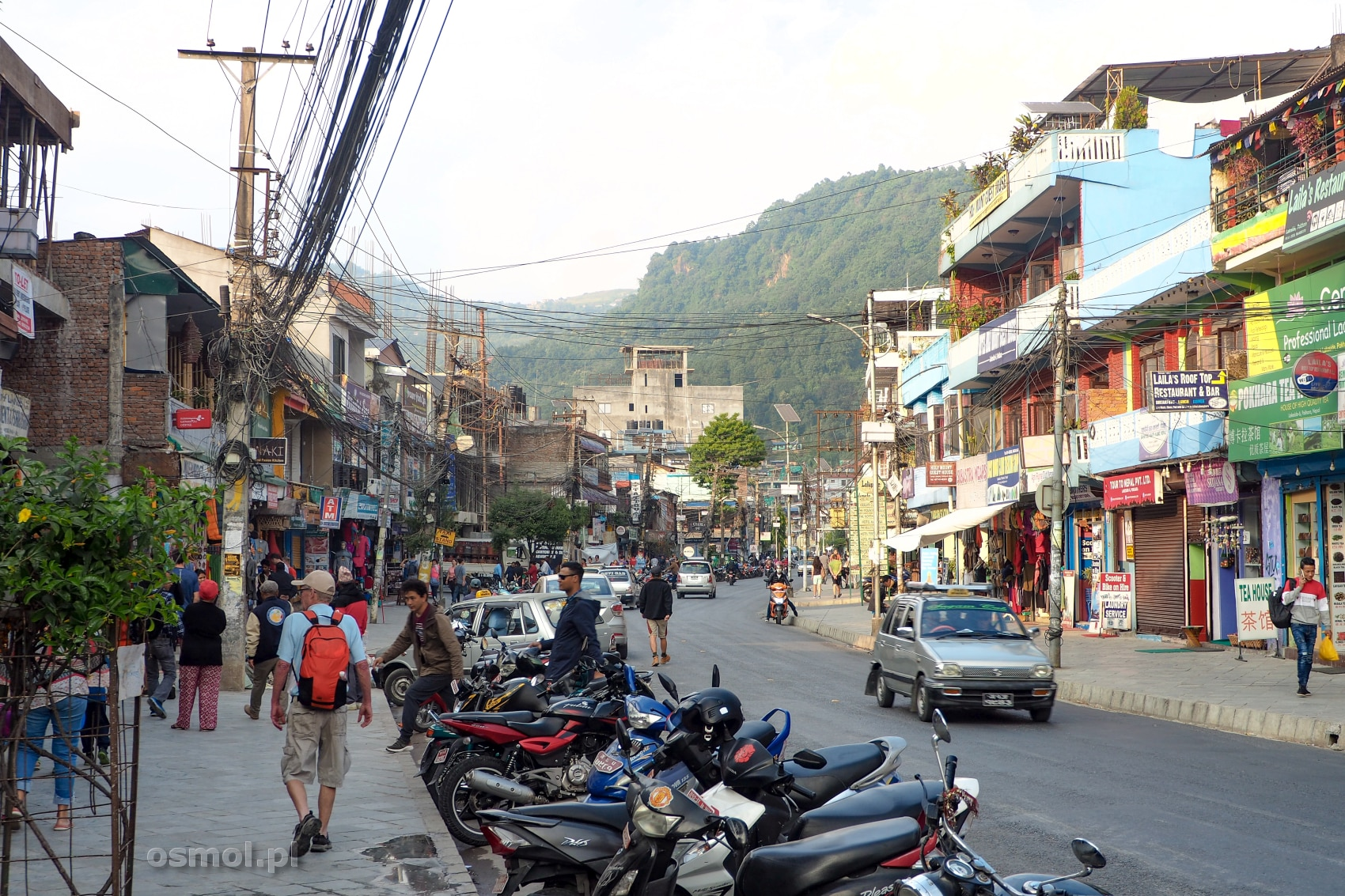 Ulica w Pokharze