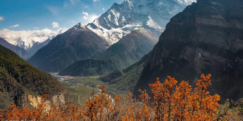 Panorama Himalajów