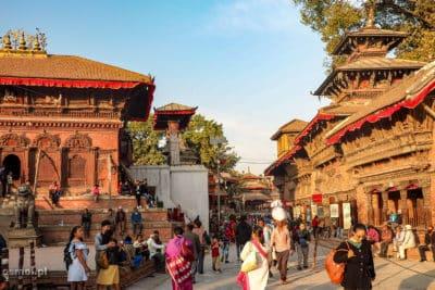 Kathmandu zabudowa newarska
