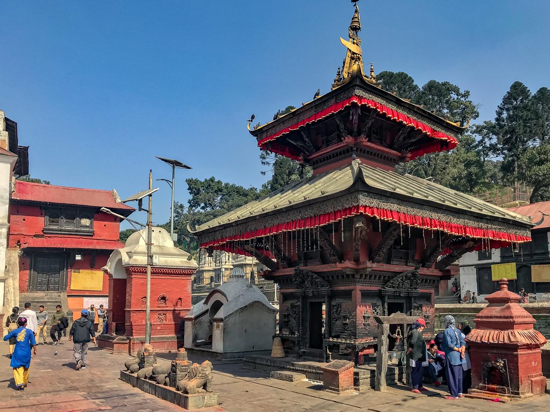 Pagoda w świątyni Paśupatinath