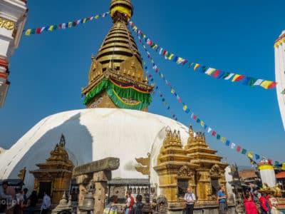 Stupa Swayambhunath w Nepalu