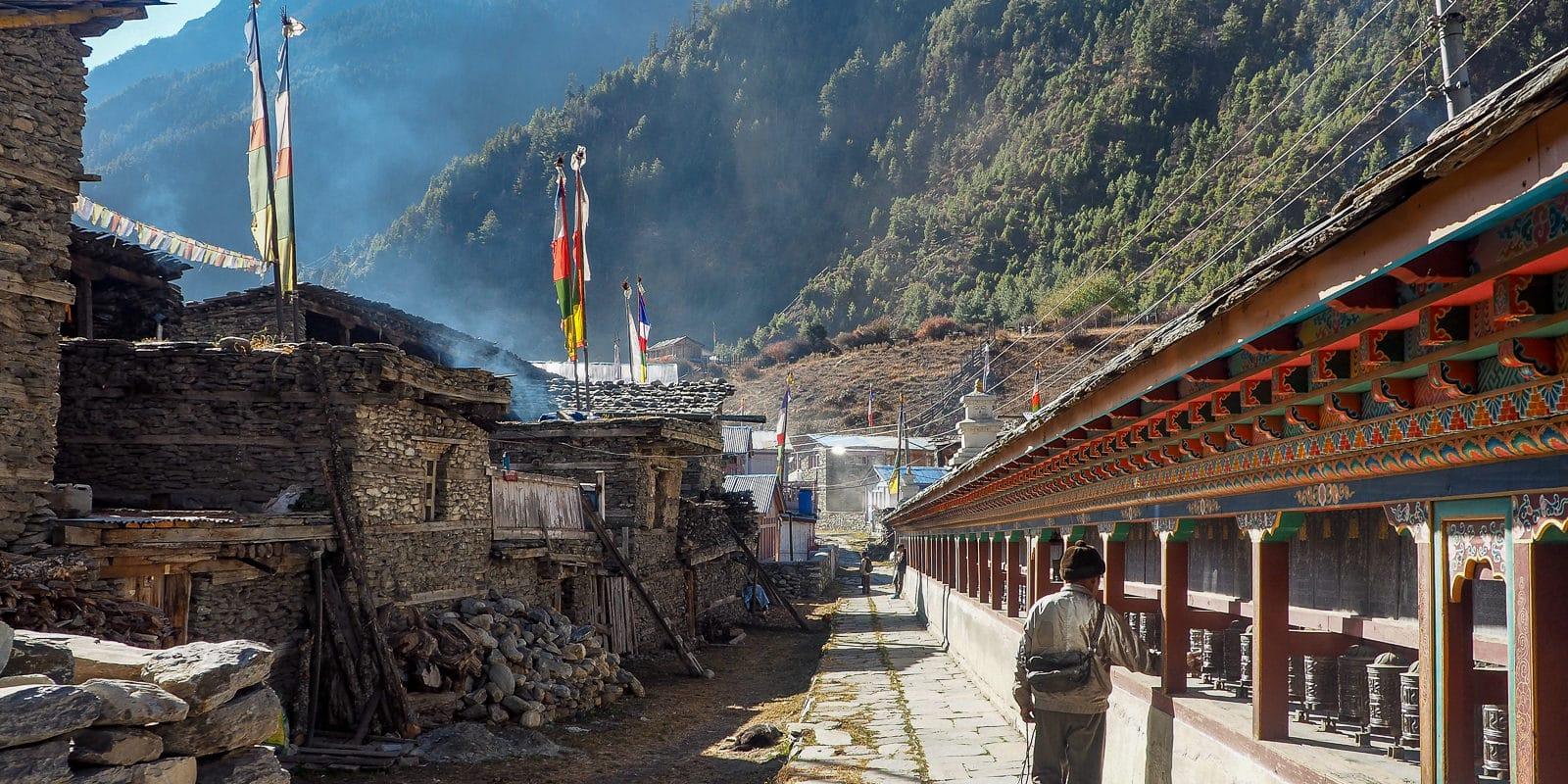 Mur modlitewny w Pisangu