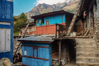 Wioska Odar w Nepalu