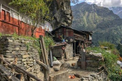 Wieś odar w Nepalu