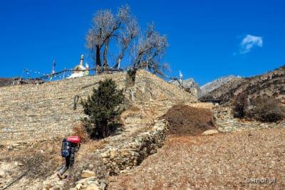 Wejście do wioski Ghyaru