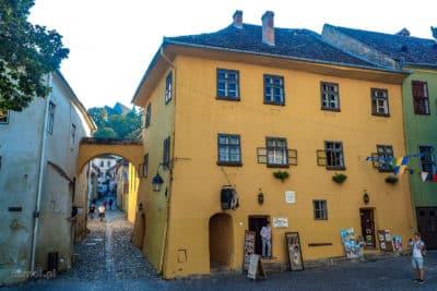 Dom w którym w Sighișoarze urodził się Drakula