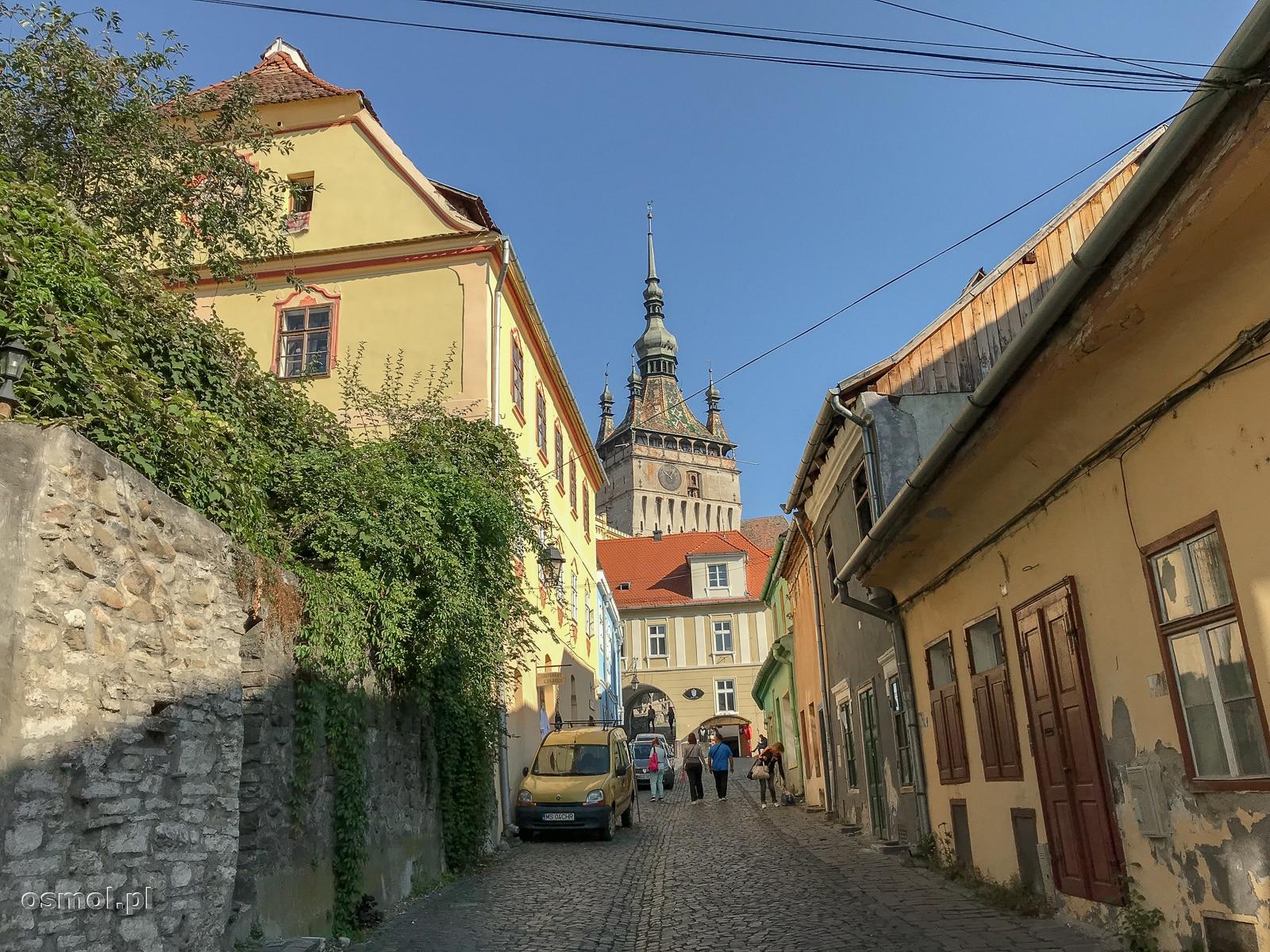 Uliczka w starej części Sighișoary