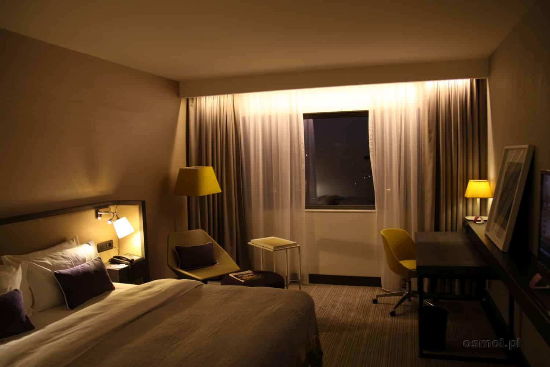 Pokój hotelowy w Belgradzie