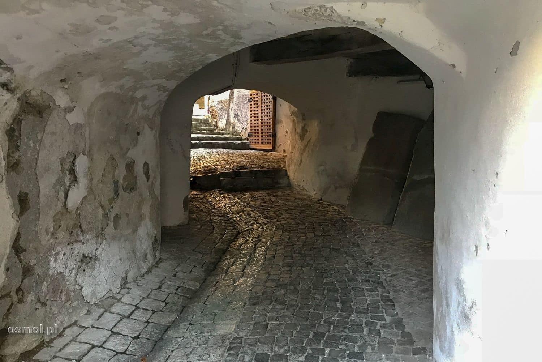 Wejście do Bastionu Tkaczy w Braszowie Rumunia