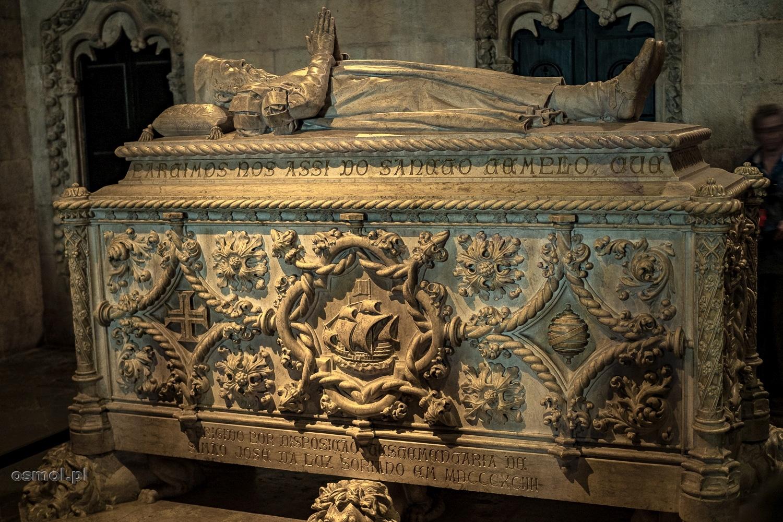Sarkofag Vasco da Gamy w klasztorze Hieronimitów.
