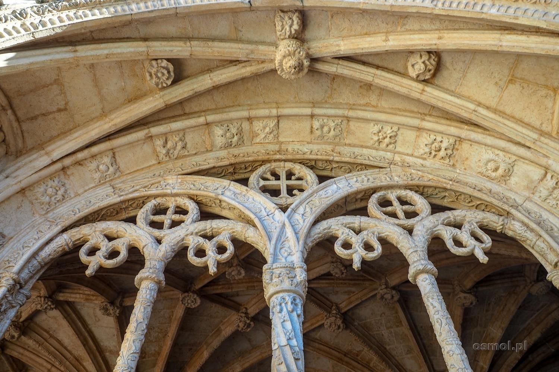 Sklepienie krużganków w klasztorze Hieronimitów