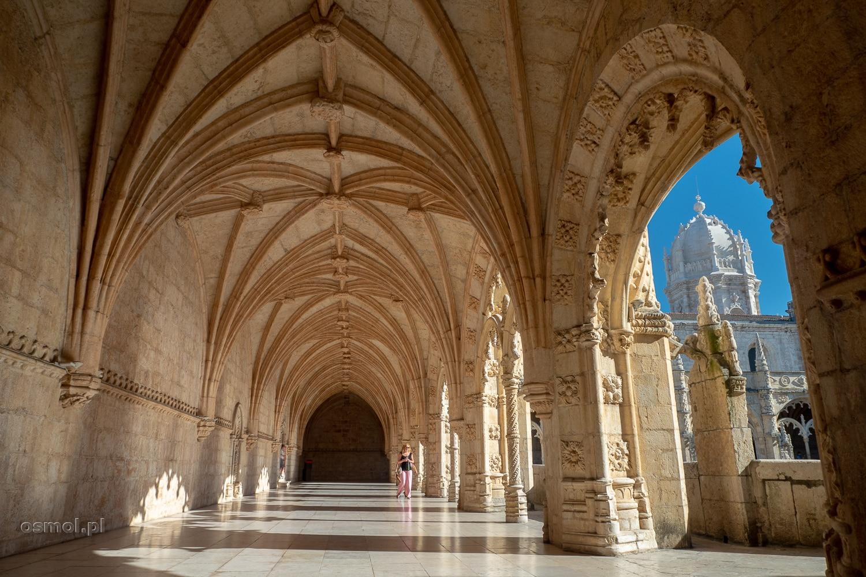 Krużganki Klasztoru Hieronimitów w Lizbonie