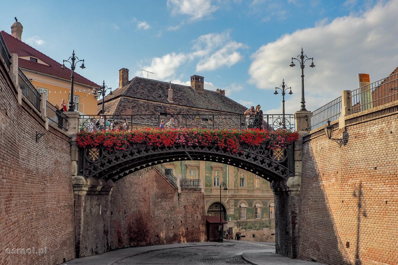 Most Kłamców w Sybinie - jedna z piękniejszych atrakcji miasta