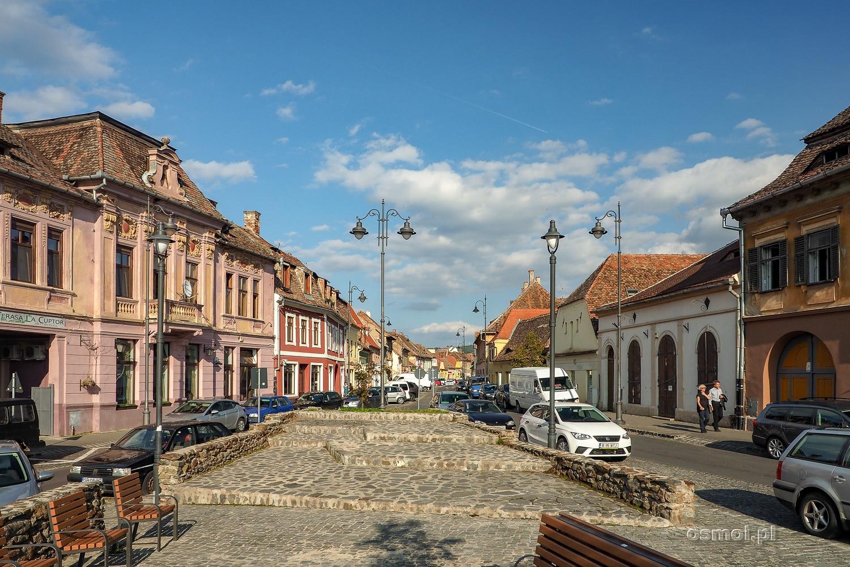 Plac w Dolnym Mieście w Sybinie