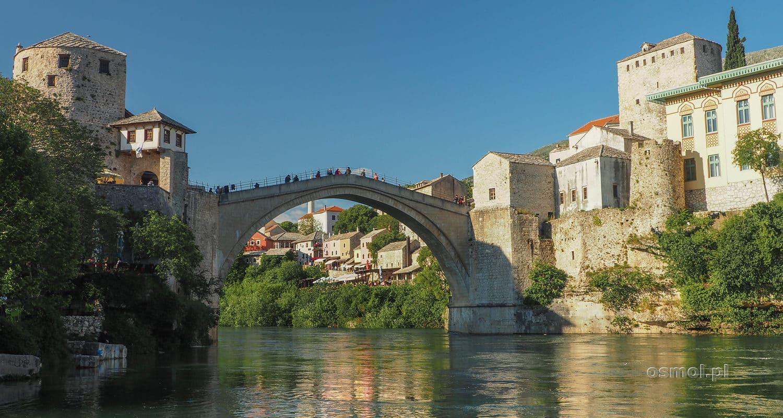 Widok na Stary Most w Mostarze