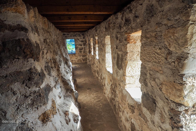 Górne piętro w Muzeum Starego Mostu w Mostarze