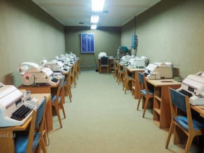 Sala dalekopisów w bunkrze Tito pod Konjic