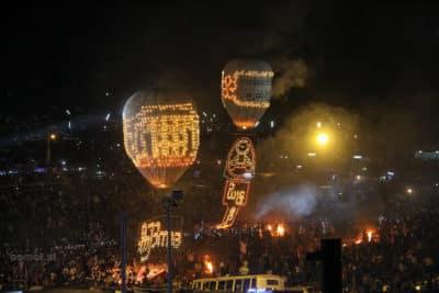 Festiwal Balonów w Birmie